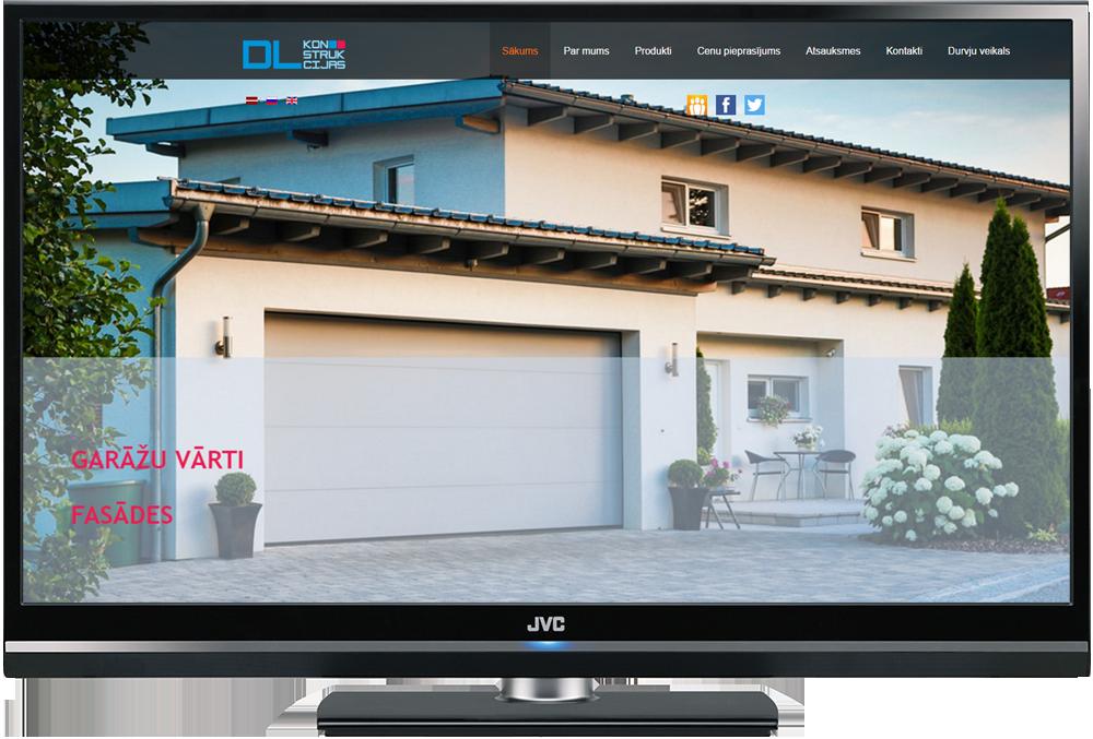 Mājas lapas dizains un izveide uz Joomla