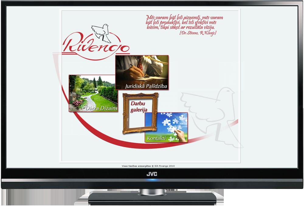 Statiska mājas lapa, dizains un izstrāde
