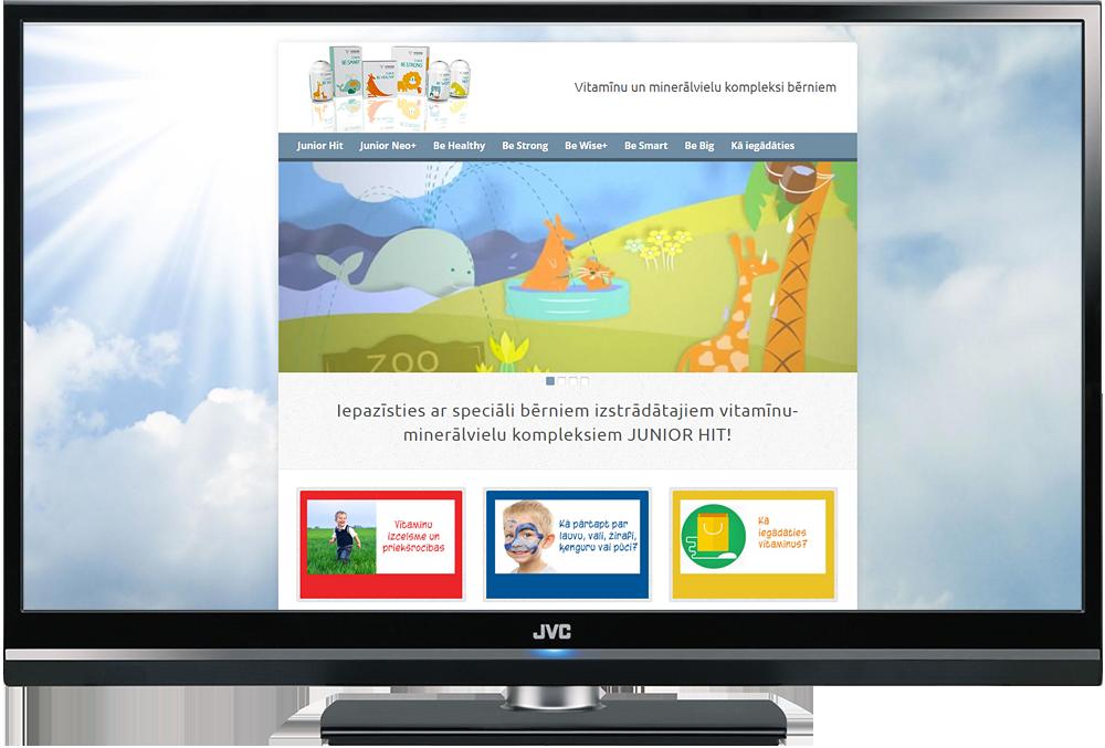 Mājas lapa uz Wordpress